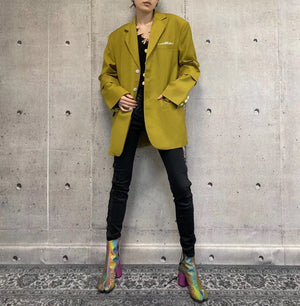 ANN ANDELMAN Oversized Blazer Jacket Oliver | MADA IN CHINA