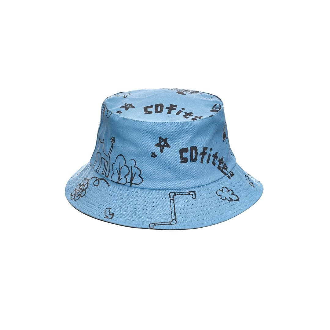 SOFITTE Painted Bucket Hat | MADA IN CHINA