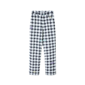 HERLIAN Painted Plaid Pants | MADA IN CHINA