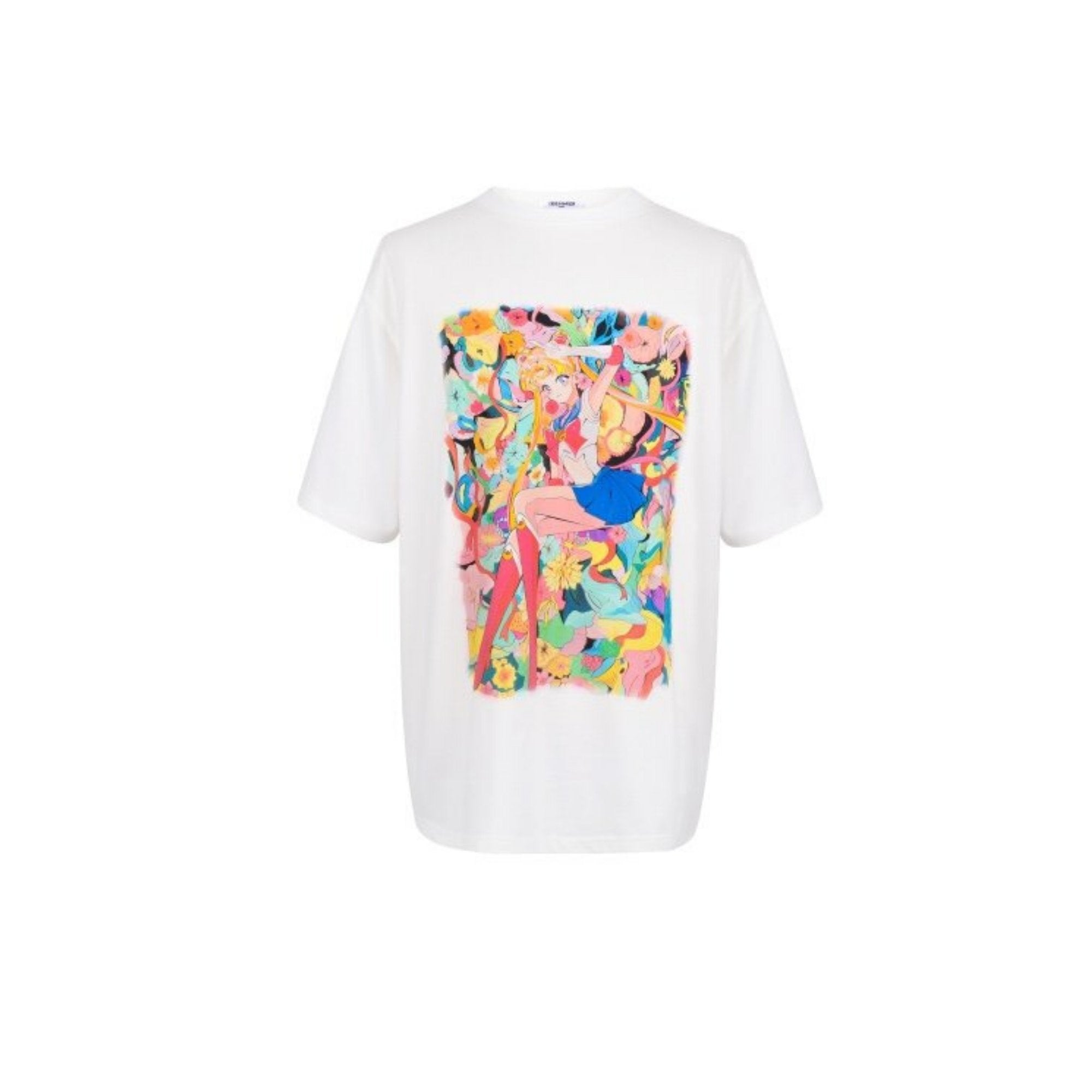 13 DE MARZO Painted Sailor Moon Tee | MADA IN CHINA