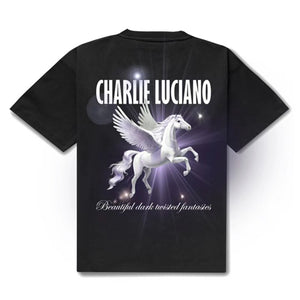 CHARLIE LUCIANO Pegasus Print T-Shirt | MADA IN CHINA