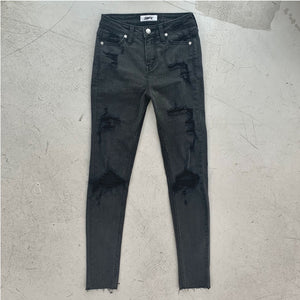 SMFK Pencil Jeans Black | MADA IN CHINA
