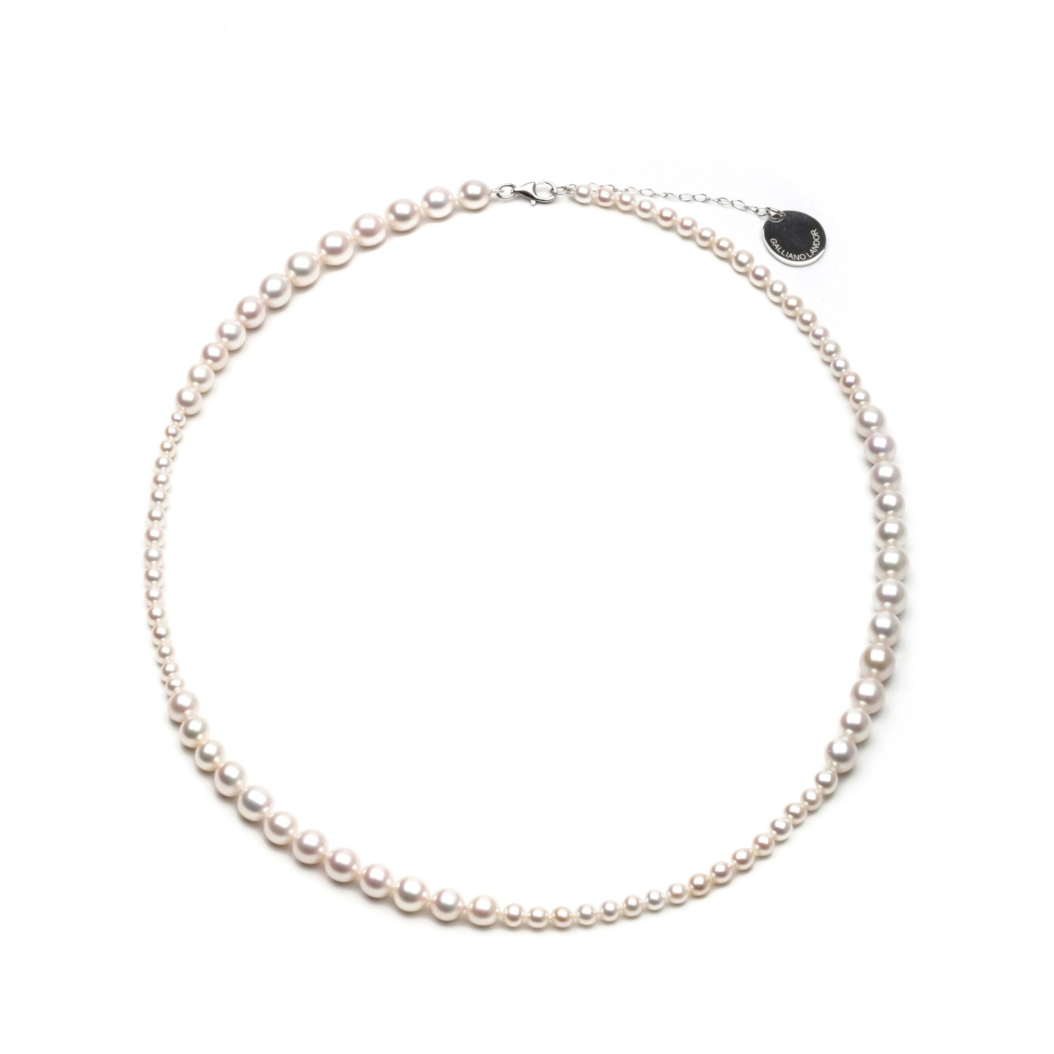 GALLIANO LANDOR PGL-401 Pearl Necklace | MADA IN CHINA