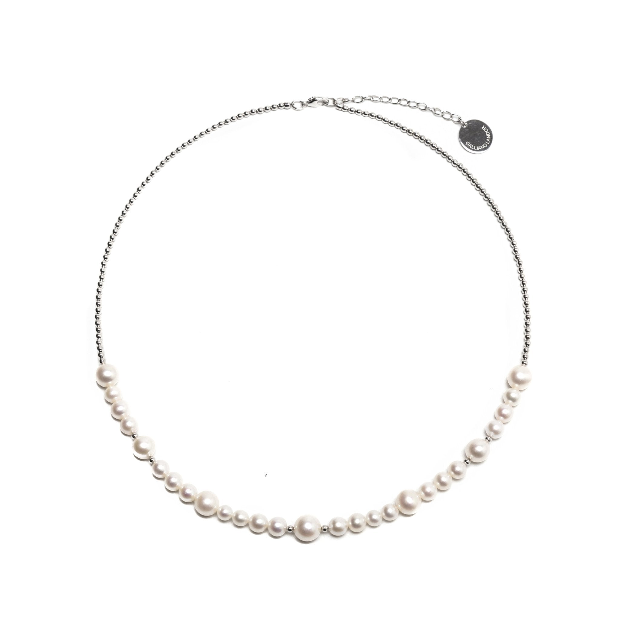GALLIANO LANDOR PGL-601 Pearl Necklace | MADA IN CHINA