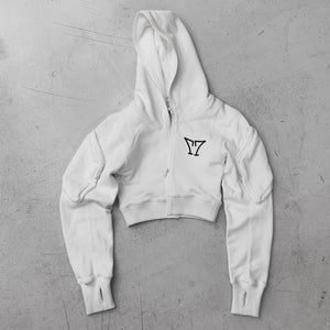 SMFK Phantom Sport Hoodie Sky White | MADA IN CHINA