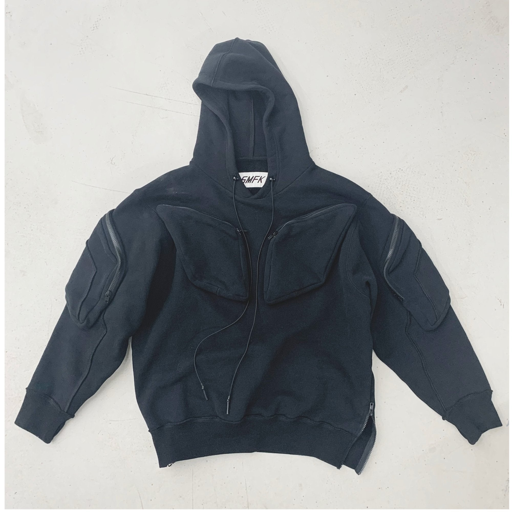 SMFK Phantom Tactical Hoodie Night Black | MADA IN CHINA