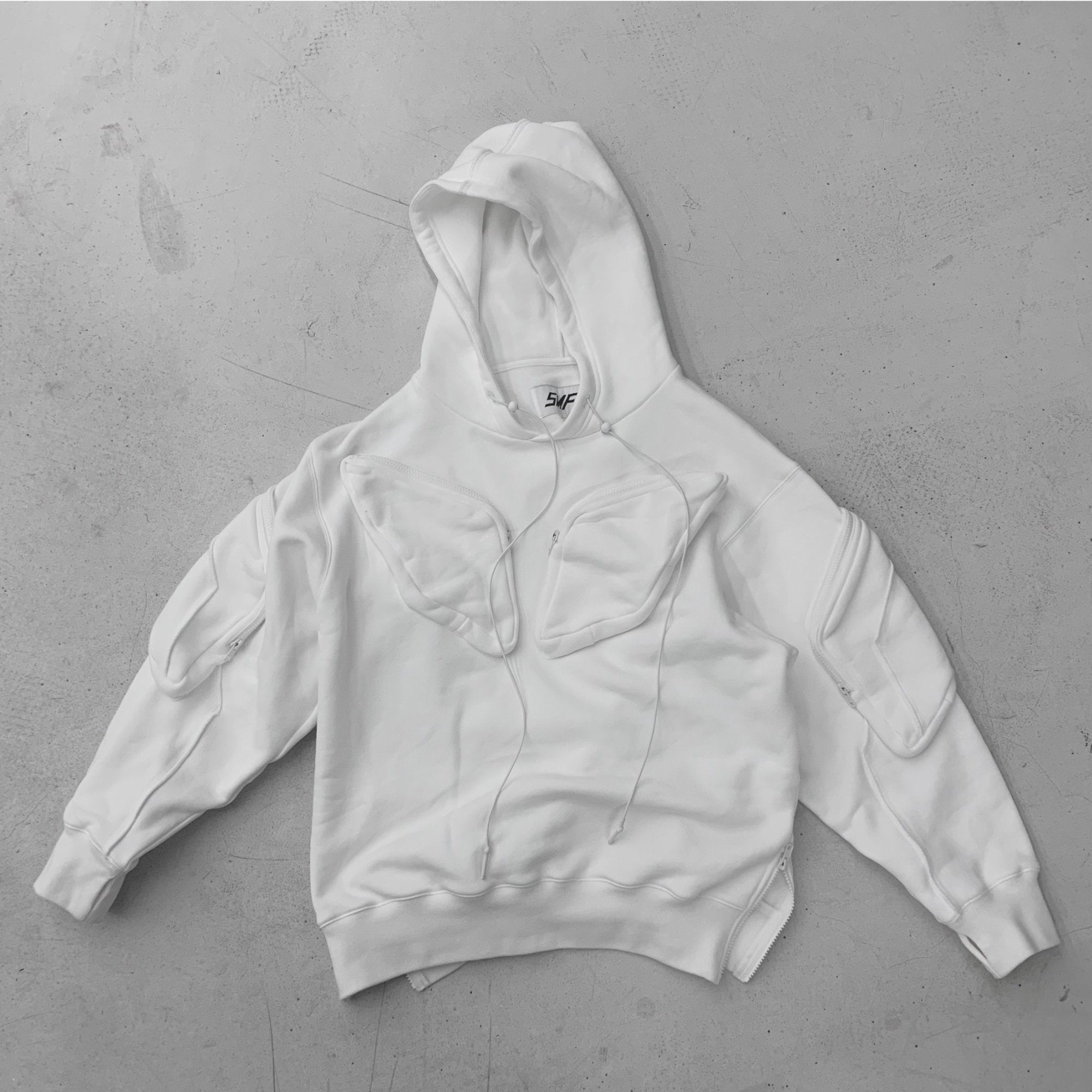 SMFK Phantom Tactical Hoodie Sky White | MADA IN CHINA