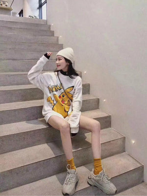 AIMME SPARROW Pikachu Sweater | MADA IN CHINA