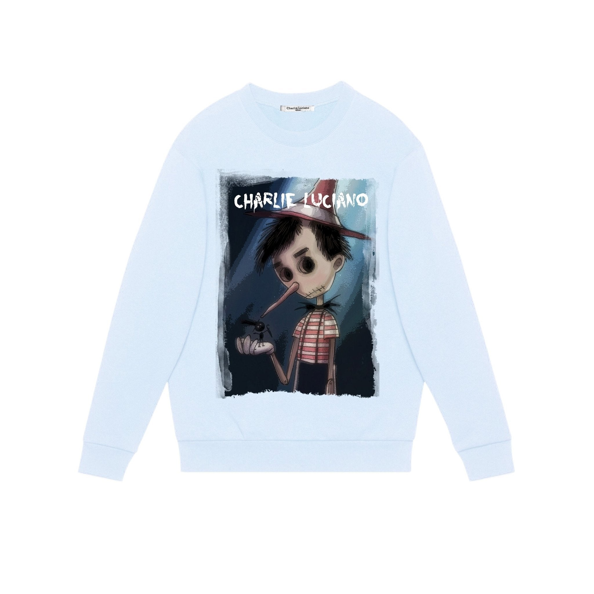 CHARLIE LUCIANO 'Pinocchio' Sweatershirt | MADA IN CHINA