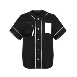 ONOFFON Pocket Denim Shirt Black | MADA IN CHINA