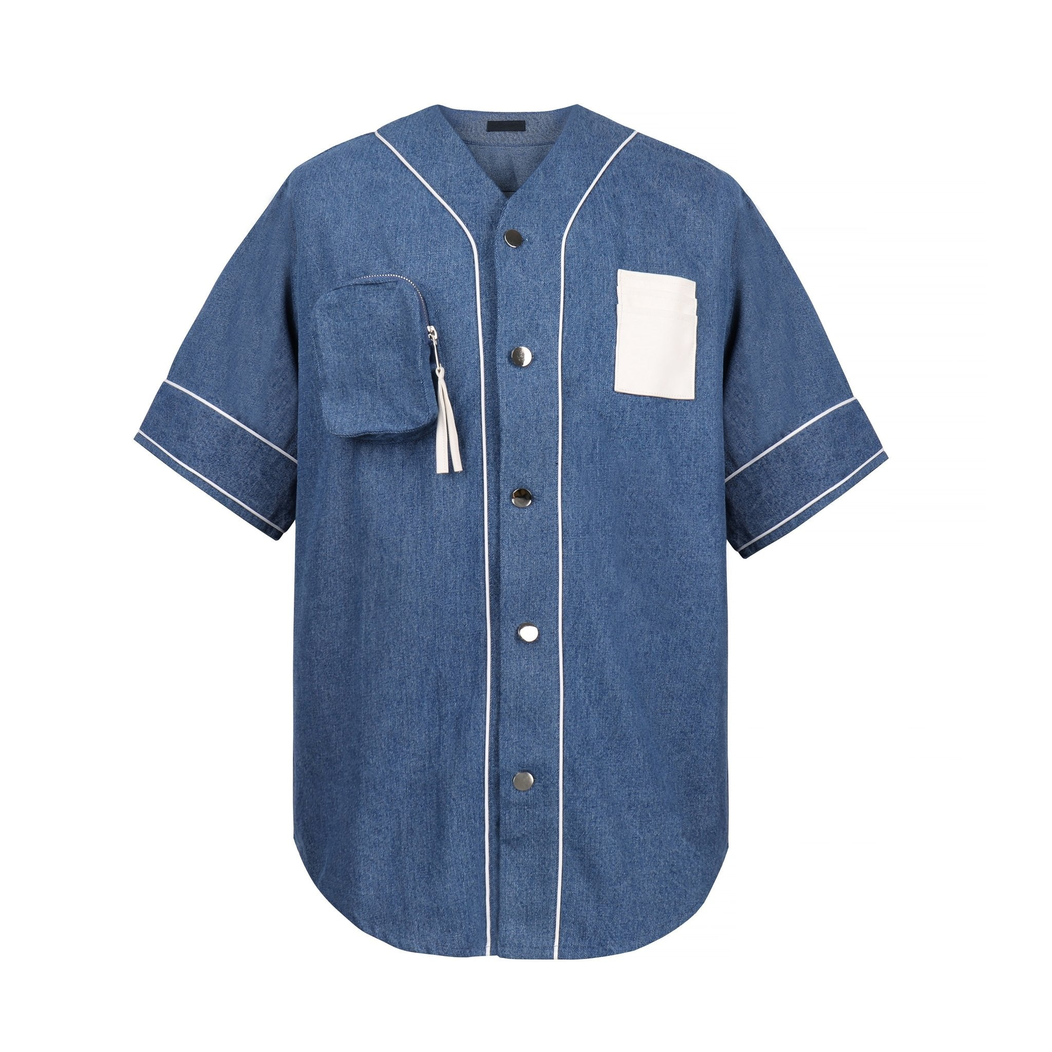 ONOFFON Pocket Denim Shirt | MADA IN CHINA