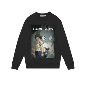 CHARLIE LUCIANO 'Princess Mononoke' Sweatershirt | MADA IN CHINA