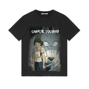 CHARLIE LUCIANO 'Princess Mononoke' T-shirt | MADA IN CHINA