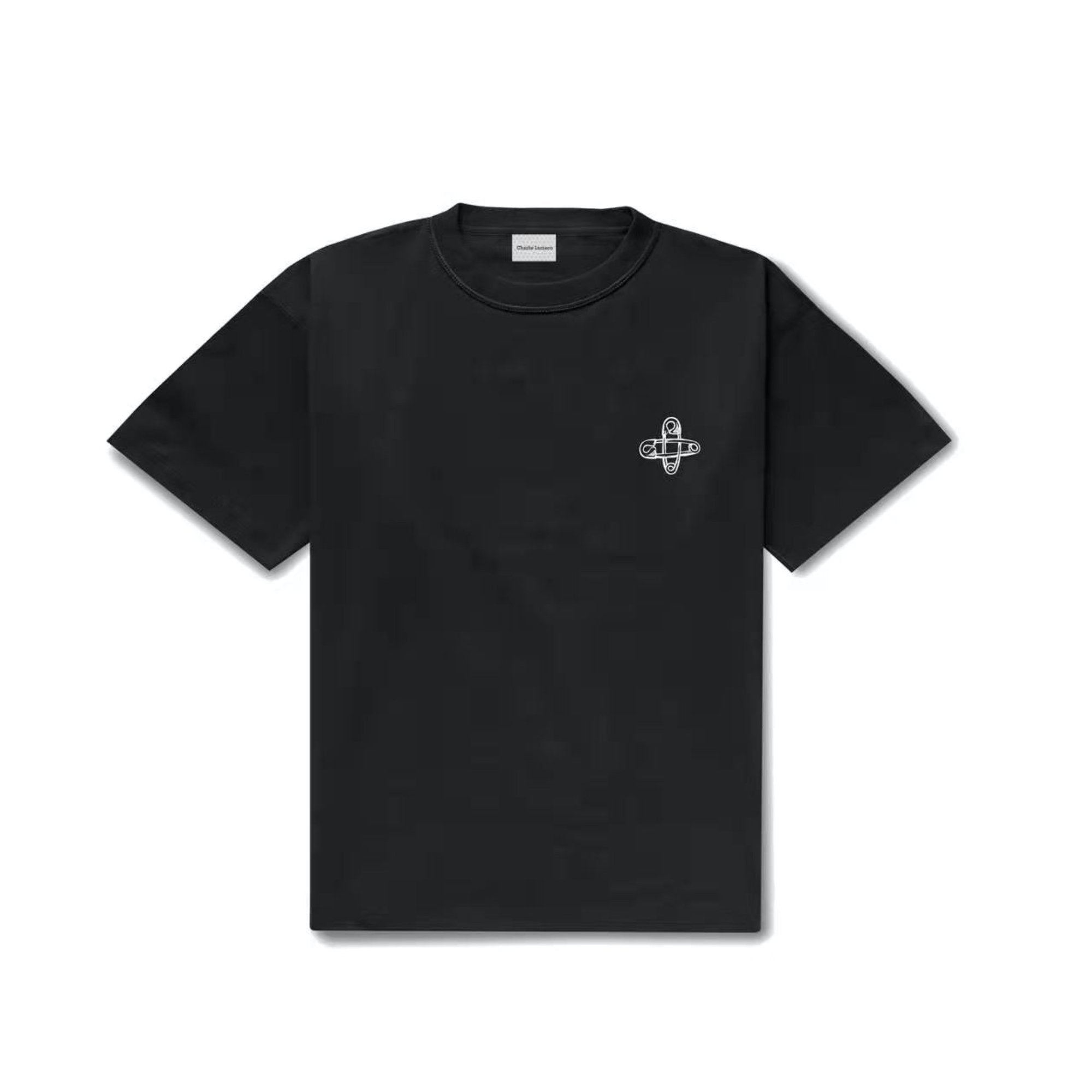 CHARLIE LUCIANO Printed Pin Logo Tee | MADA IN CHINA