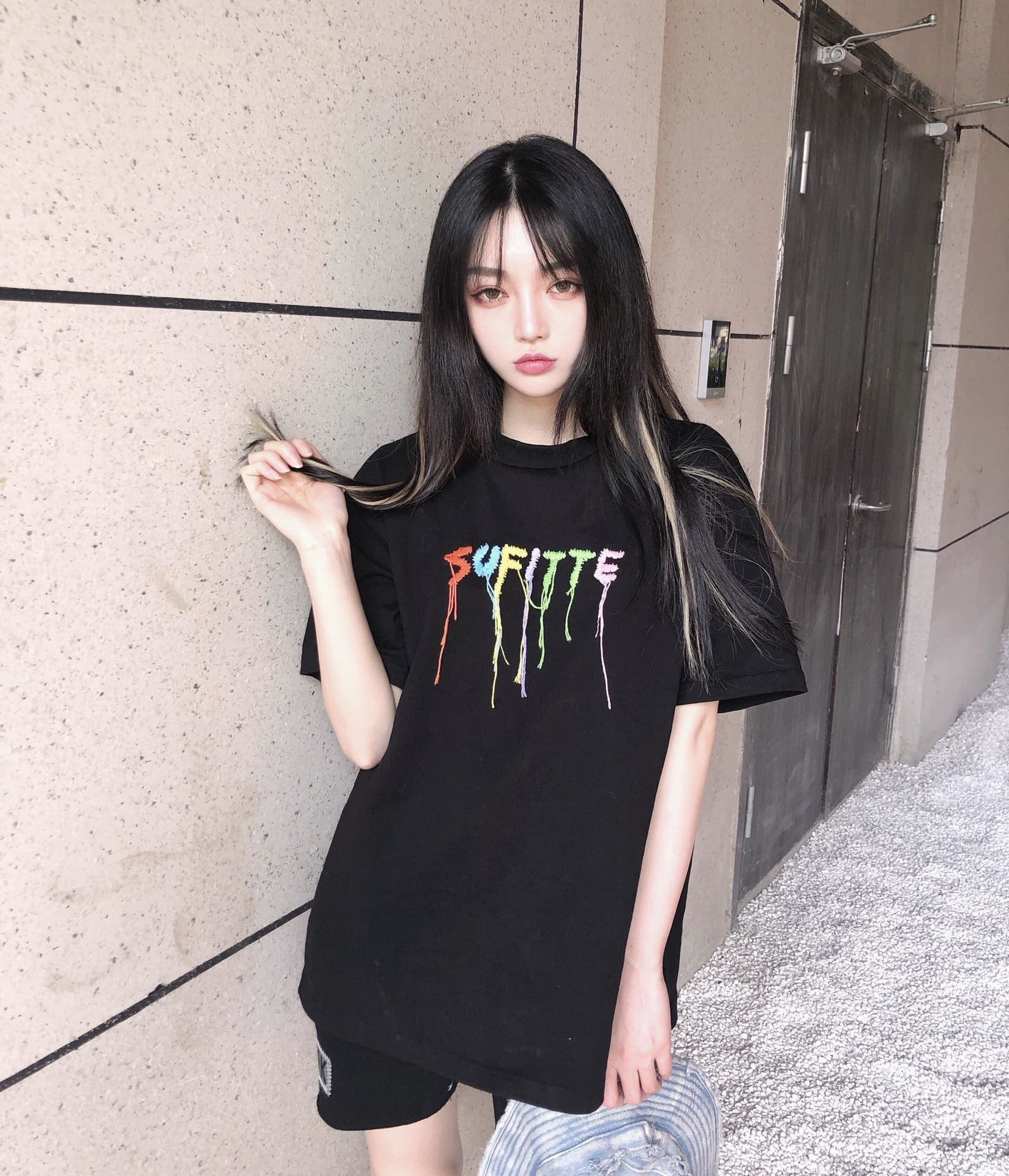 SOFITTE Rainbow Logo Tee | MADA IN CHINA