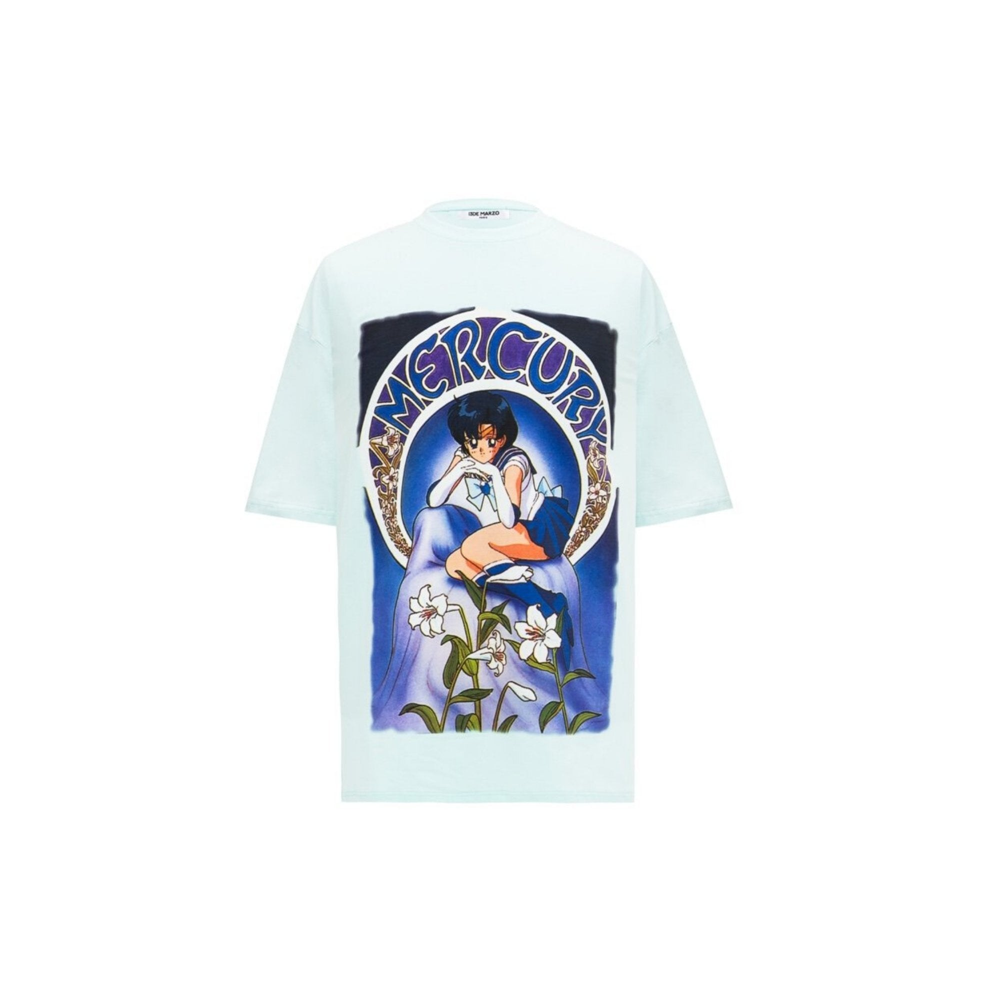 13 DE MARZO Sailor Moon Mercury Tee | MADA IN CHINA