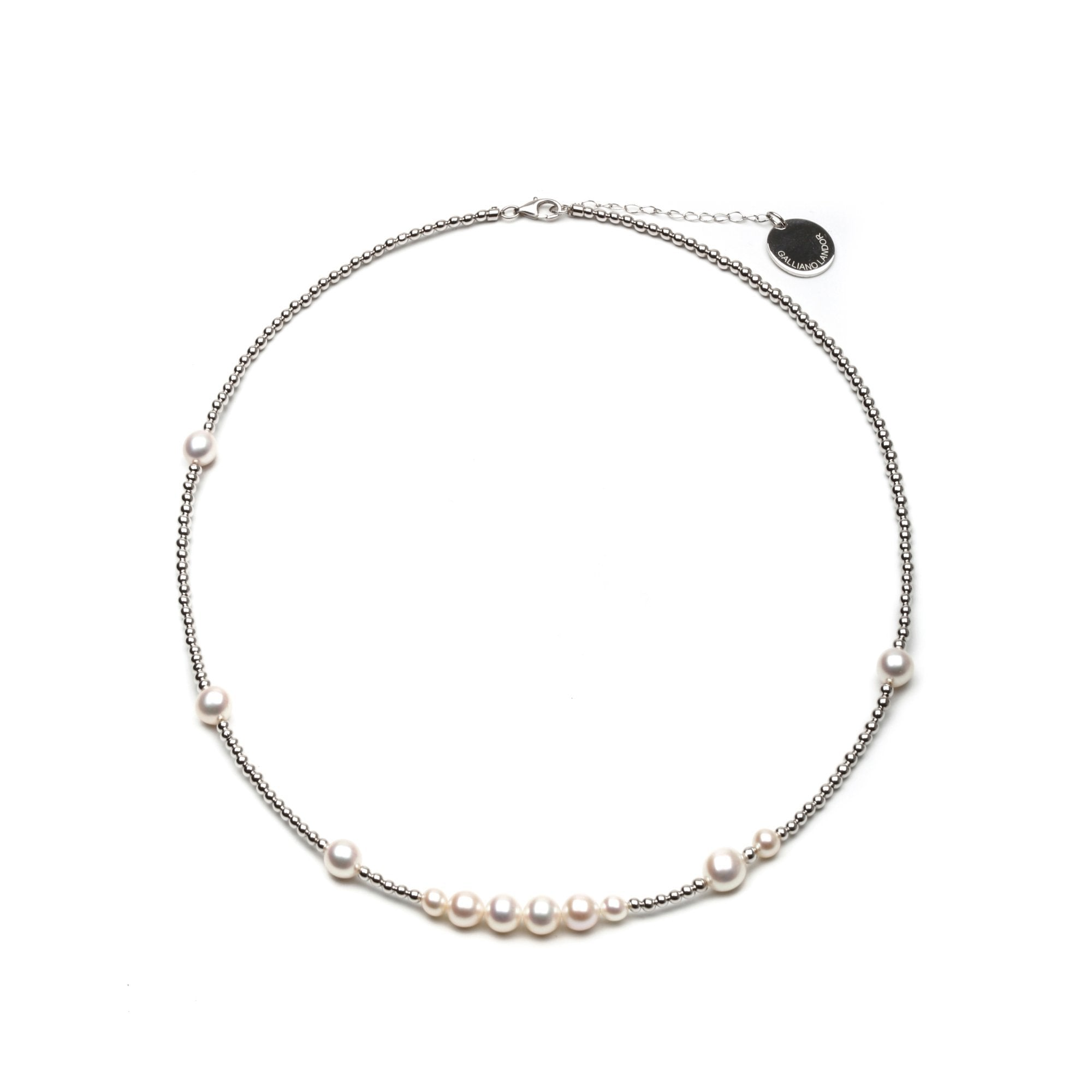 GALLIANO LANDOR SGL-101 Pearl Necklace | MADA IN CHINA