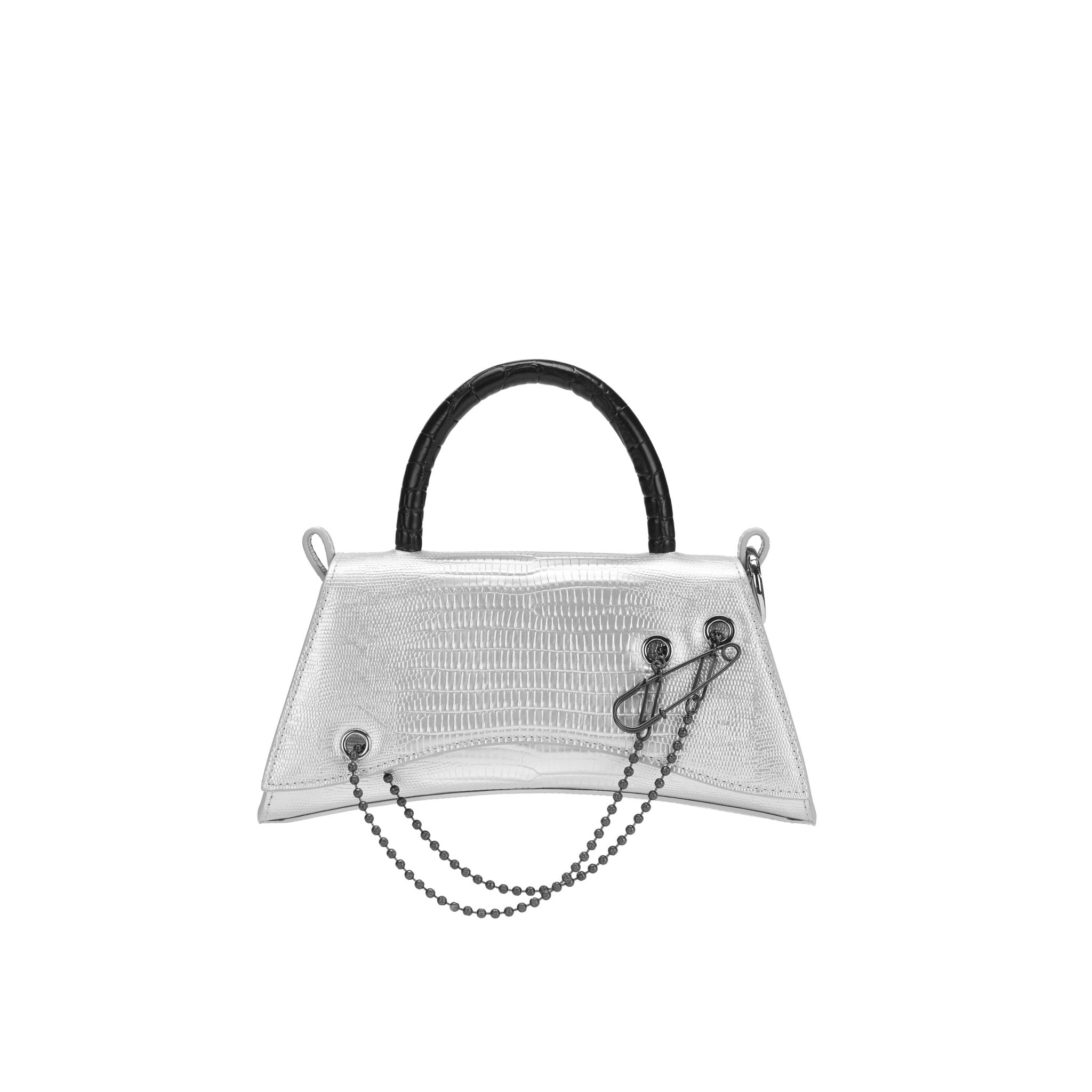 LOST IN ECHO Silver Barrett Metail Chain Bag Small | MADA IN CHINA