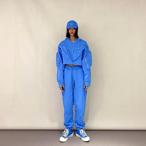 SMFK SKP-S Exclusive Baby Blue Tactical Jogger | MADA IN CHINA