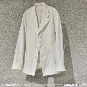 SMFK Smfk Strayed Blazer Jacket White | MADA IN CHINA
