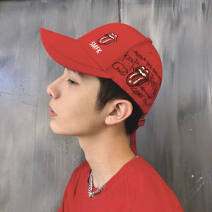 SMFK Smfk X Rolling Stones Large-logo Baseball Hat | MADA IN CHINA