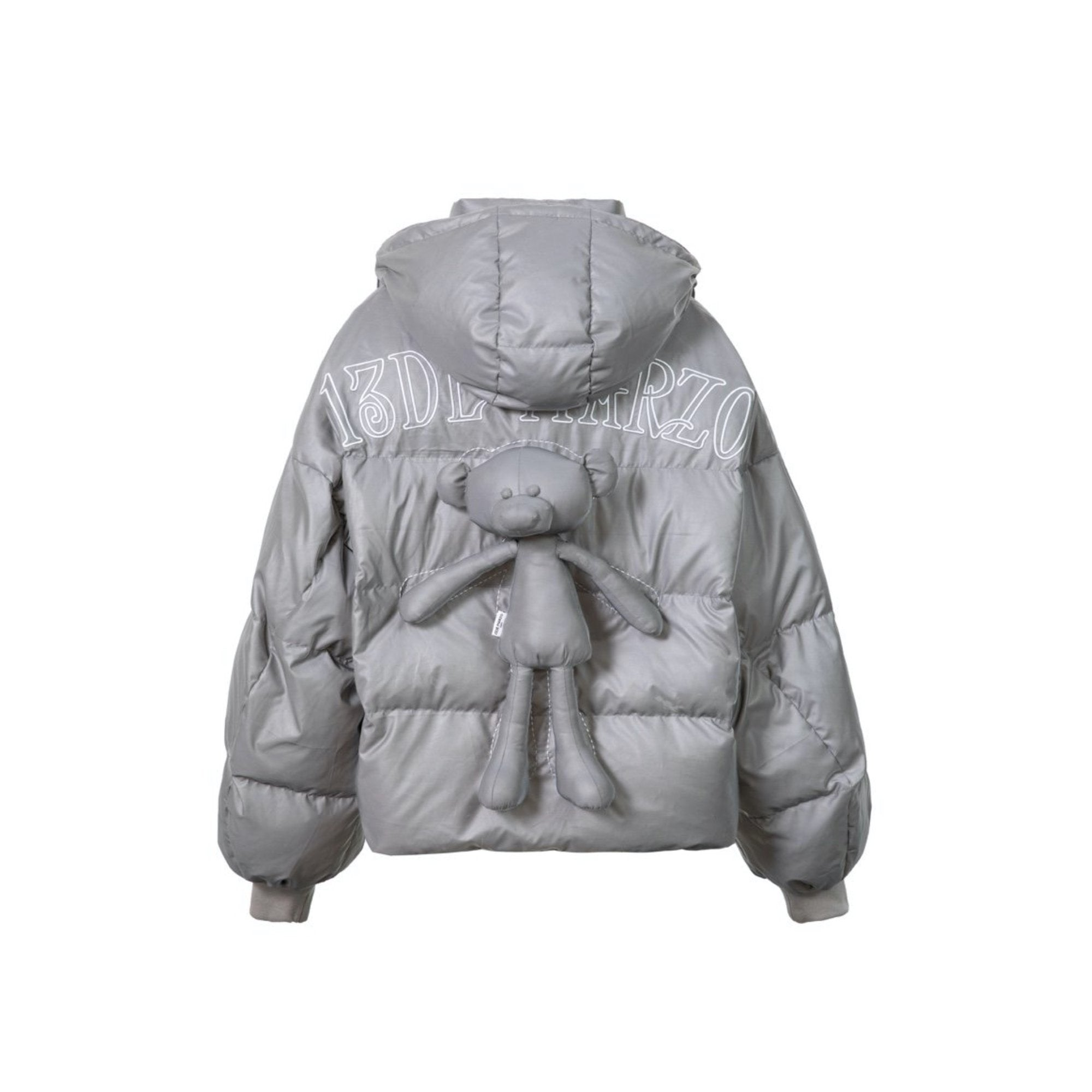 13 DE MARZO Space Journey Teddy Bear Down Jacket 3M | MADA IN CHINA