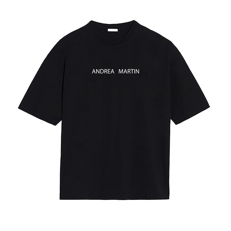 ANDREA MARTIN Spaceship Printed Tee | MADA IN CHINA