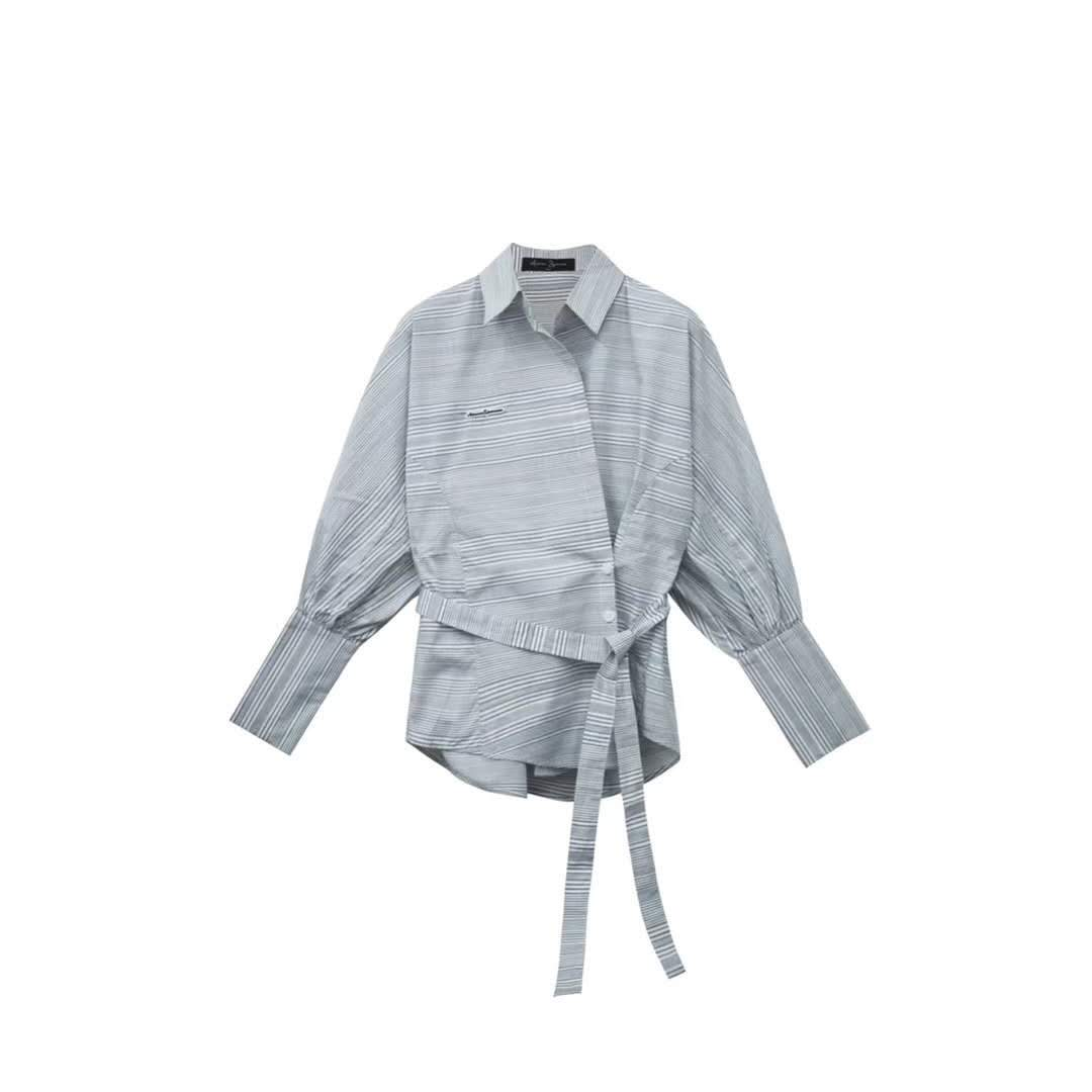 AIMME SPARROW Stripe Shirt | MADA IN CHINA