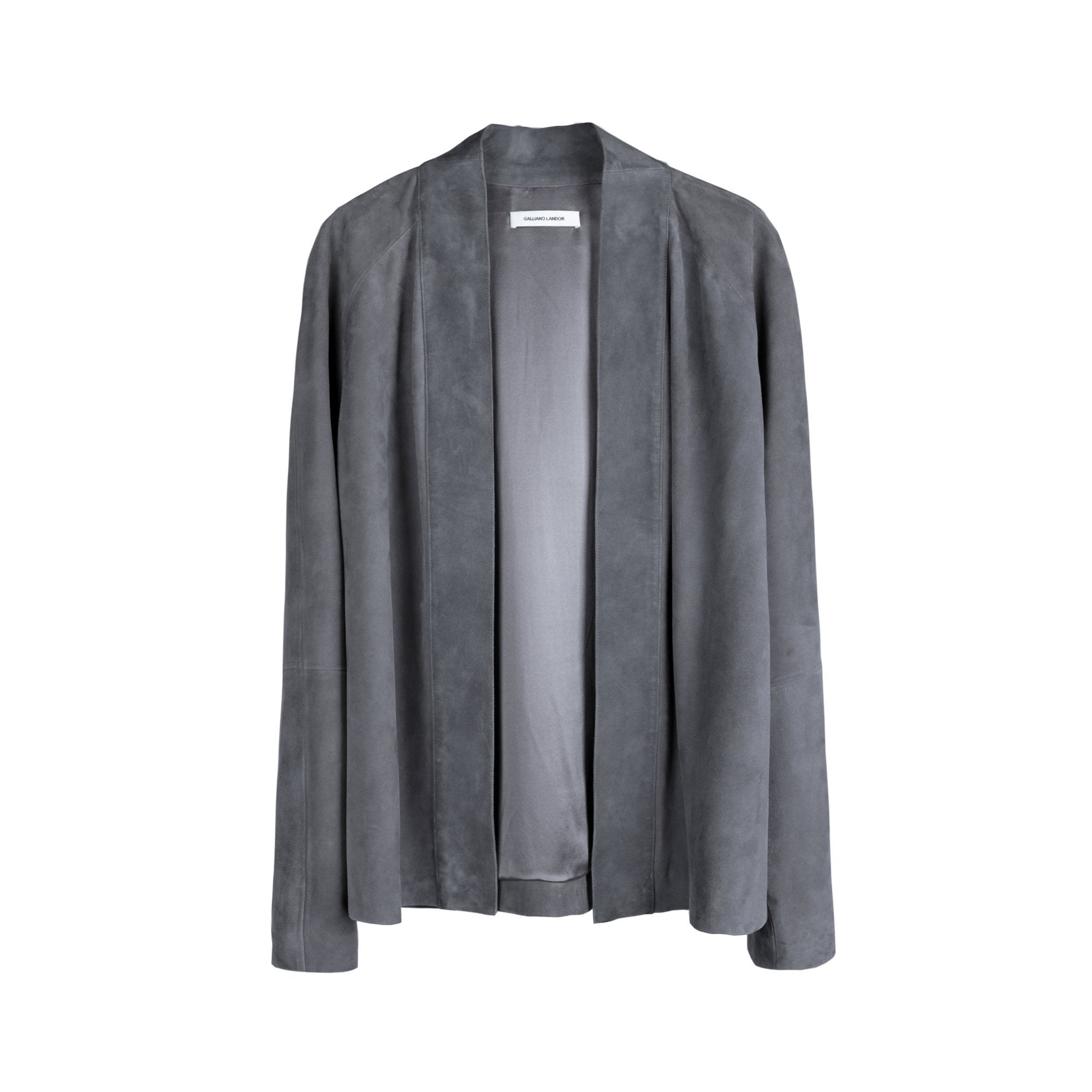 GALLIANO LANDOR Suede Kimono Jacket | MADA IN CHINA