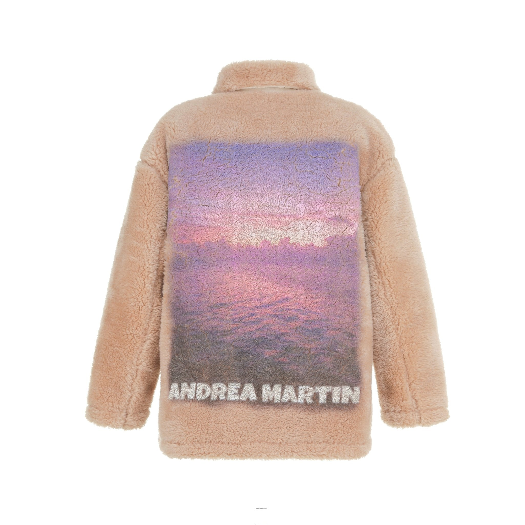 ANDREA MARTIN Sunset Wool Jacket Khaki | MADA IN CHINA