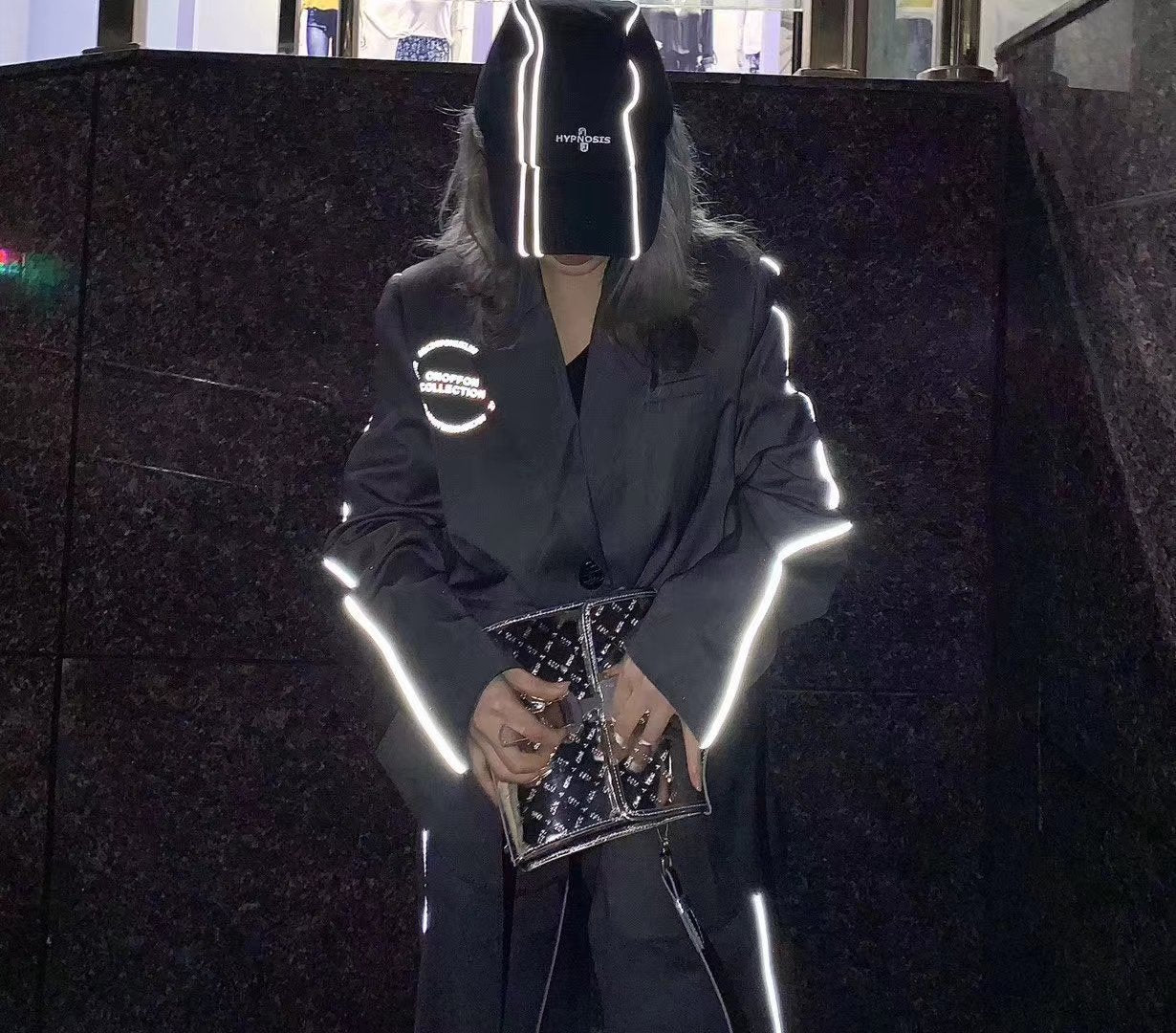 ONOFFON Tech Reflective Suit Jacket | MADA IN CHINA
