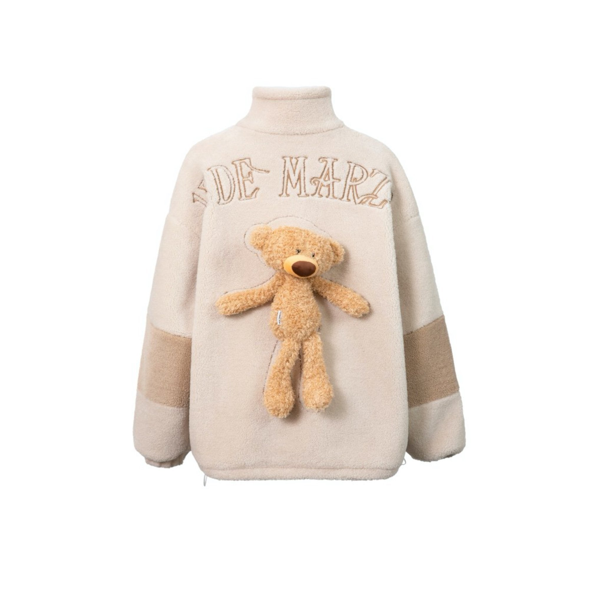 13 DE MARZO Teddy Bear Lamb Wool Coat Angora | MADA IN CHINA