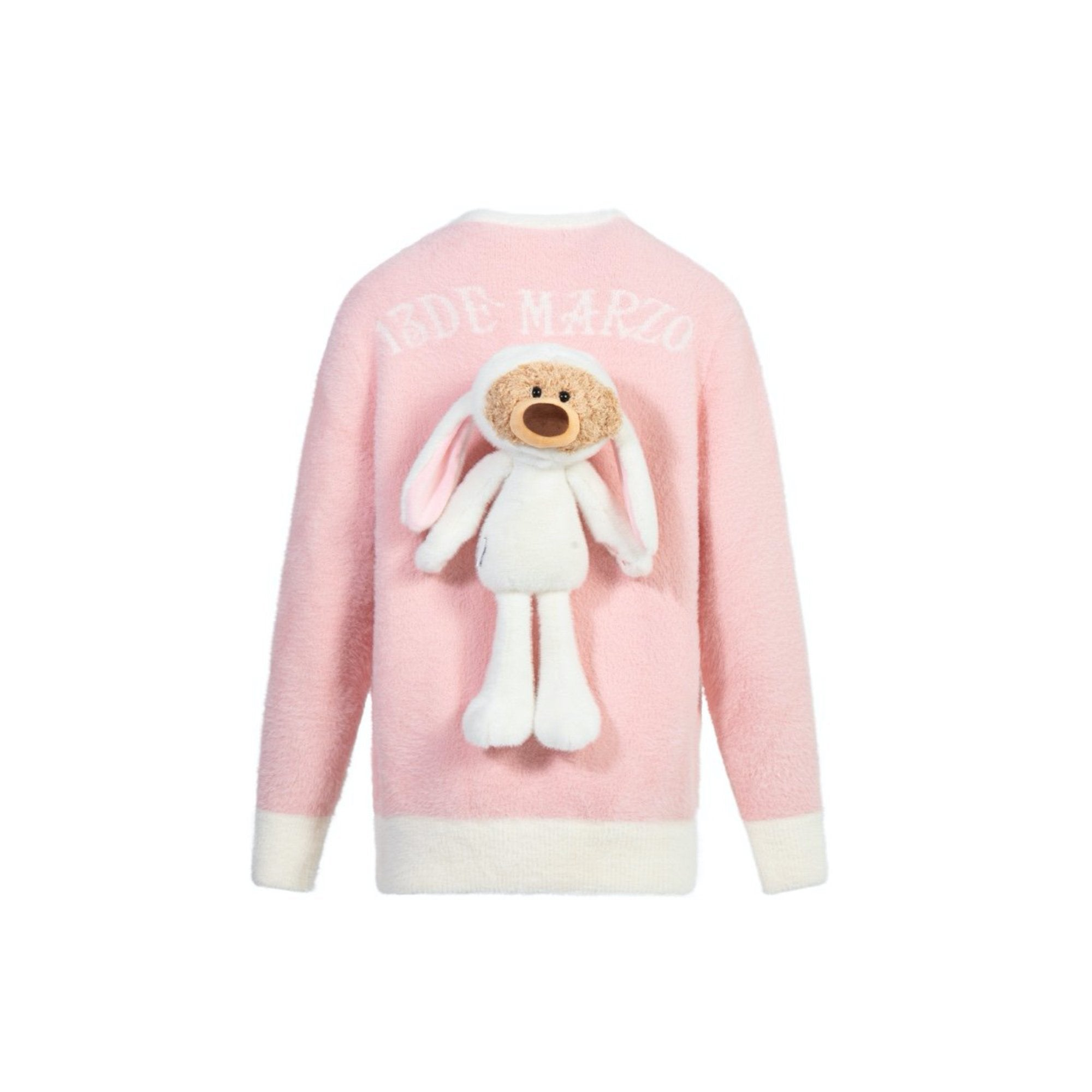 13 DE MARZO Teddy Bear Rabbit Costume Cardigan Fairy Tale | MADA IN CHINA
