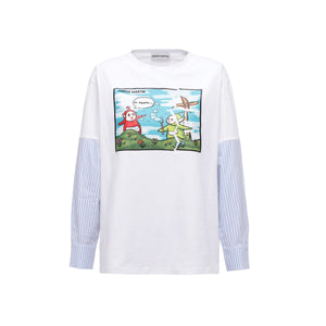 ANDREA MARTIN Teletubbies Panelled Long-Sleeve Tee | MADA IN CHINA