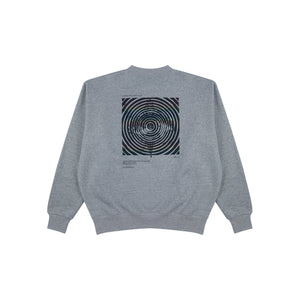 PROJECTION The Clown's Eye Sweatshirt Gray | MADA IN CHINA