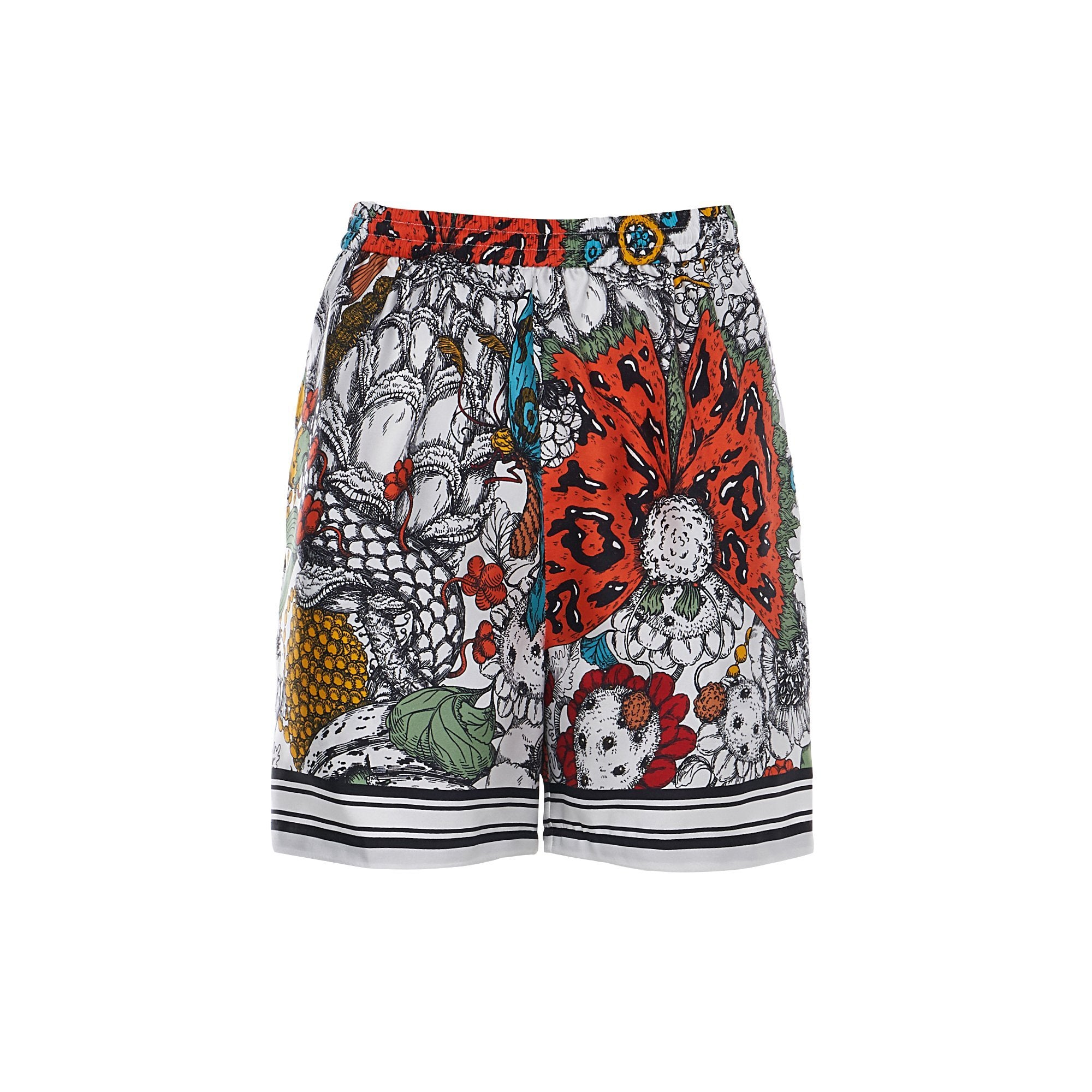Laurence & Chico Van Dusen Garden Print Short | MADA IN CHINA