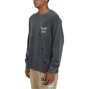 SAINT LOUIS Vintage Grey Long Sleeve | MADA IN CHINA
