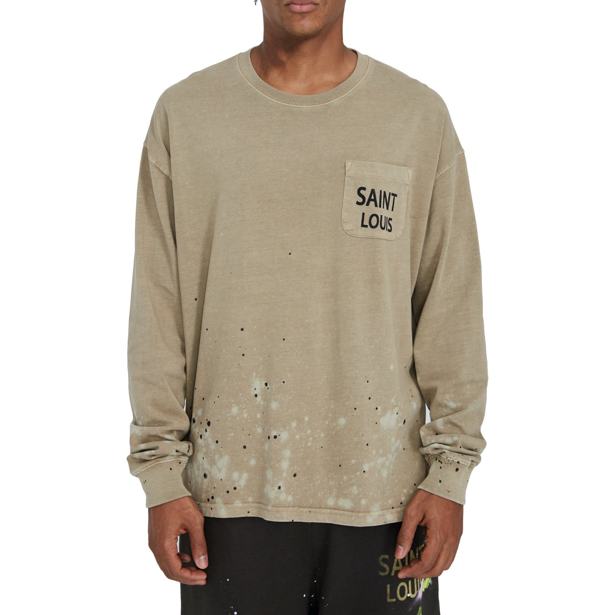 SAINT LOUIS Vintage Tan Long Sleeve | MADA IN CHINA
