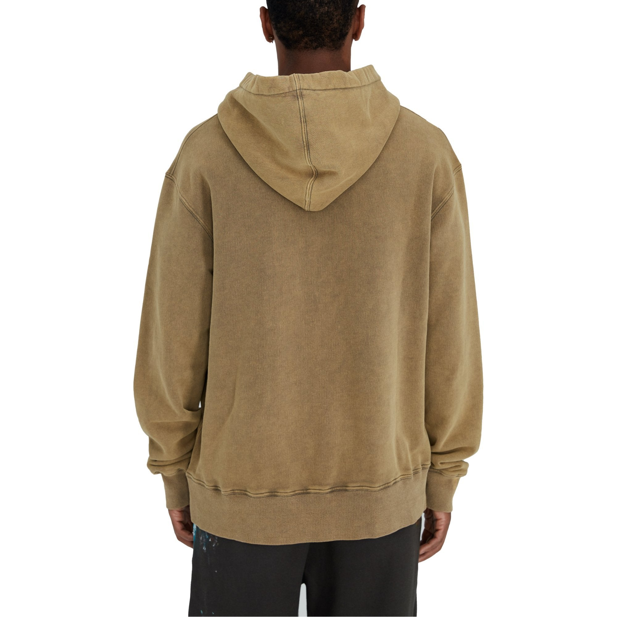 SAINT LOUIS Vintage Tan Object Dyded Hoodie | MADA IN CHINA