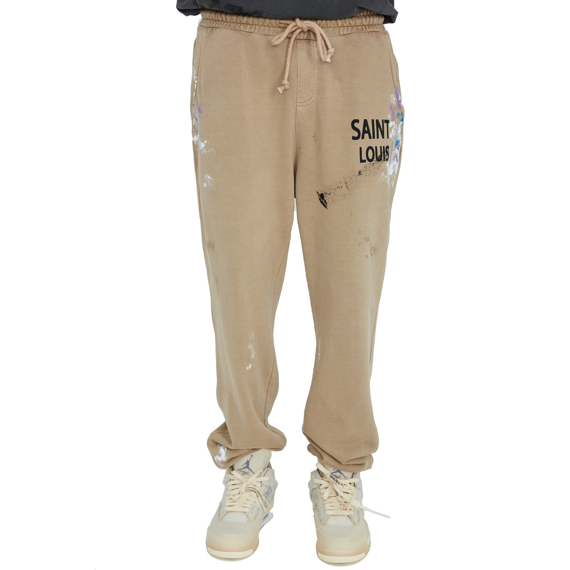 SAINT LOUIS Vintage Tan Sweat Pant | MADA IN CHINA