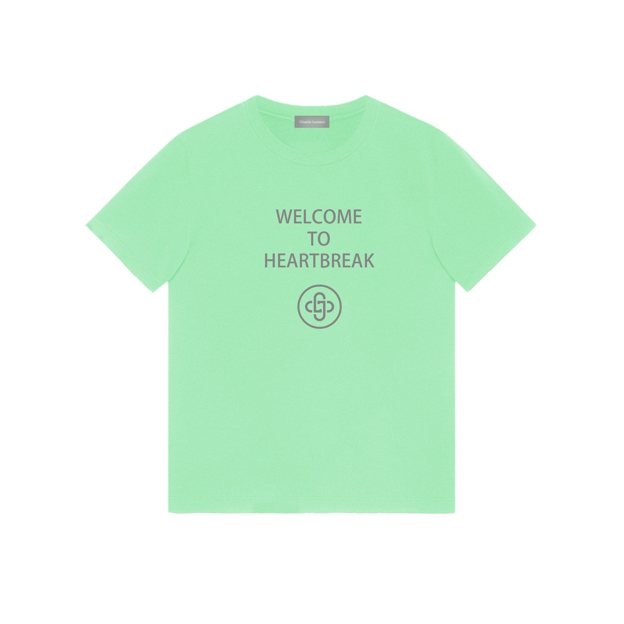 CHARLIE LUCIANO 'Welcome To Heartbreak' Tee | MADA IN CHINA