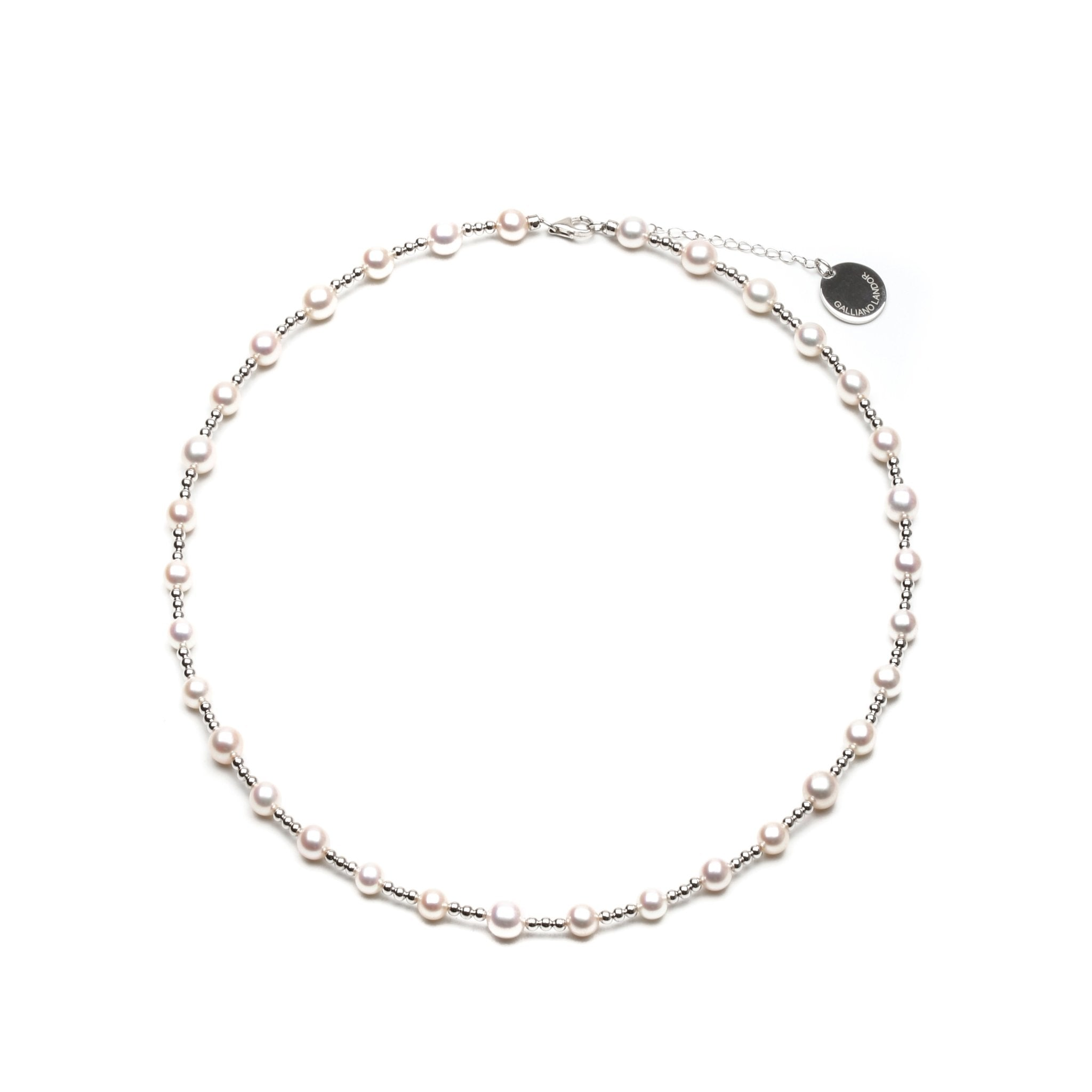 GALLIANO LANDOR WGL-201 Pearl Necklace | MADA IN CHINA
