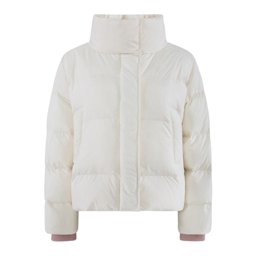 HERLIAN White Bee & Flower Puff Jacket | MADA IN CHINA
