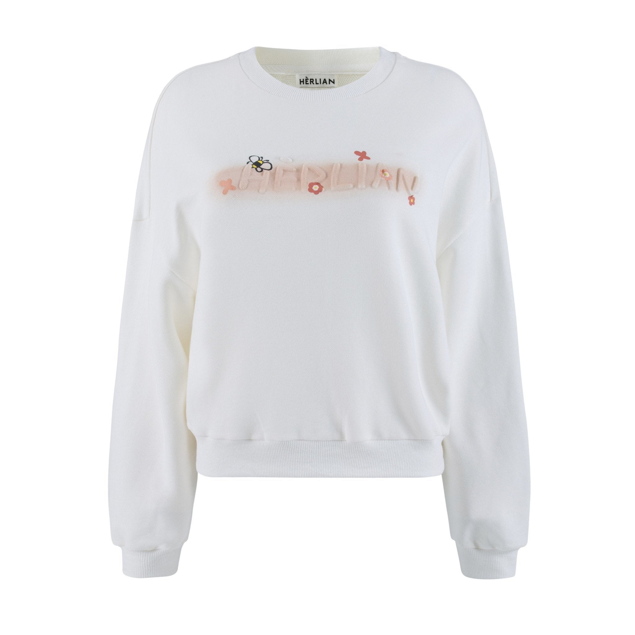HERLIAN White Bee Logo Sweater | MADA IN CHINA