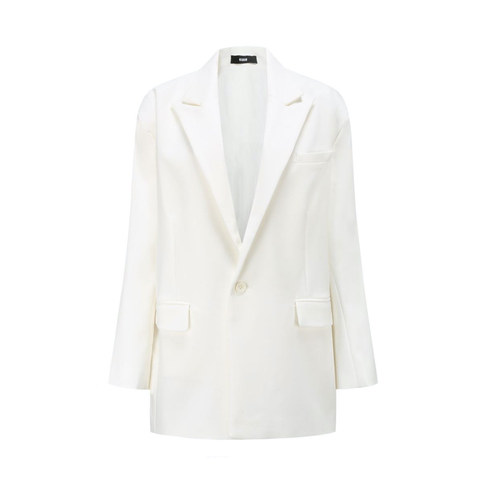 40 CREW White Blazer Jacket | MADA IN CHINA