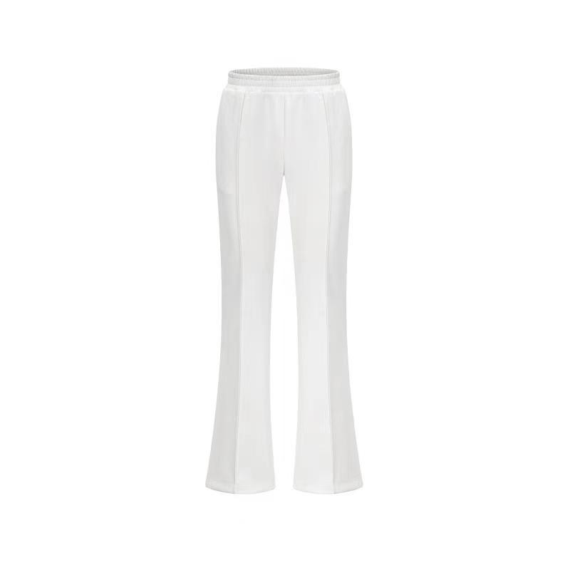 THREE QUARTERS White Causal Trousers | MADA IN CHINA