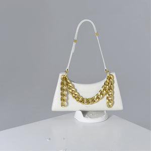 APEDE MOD White Croc Froggy Bag | MADA IN CHINA