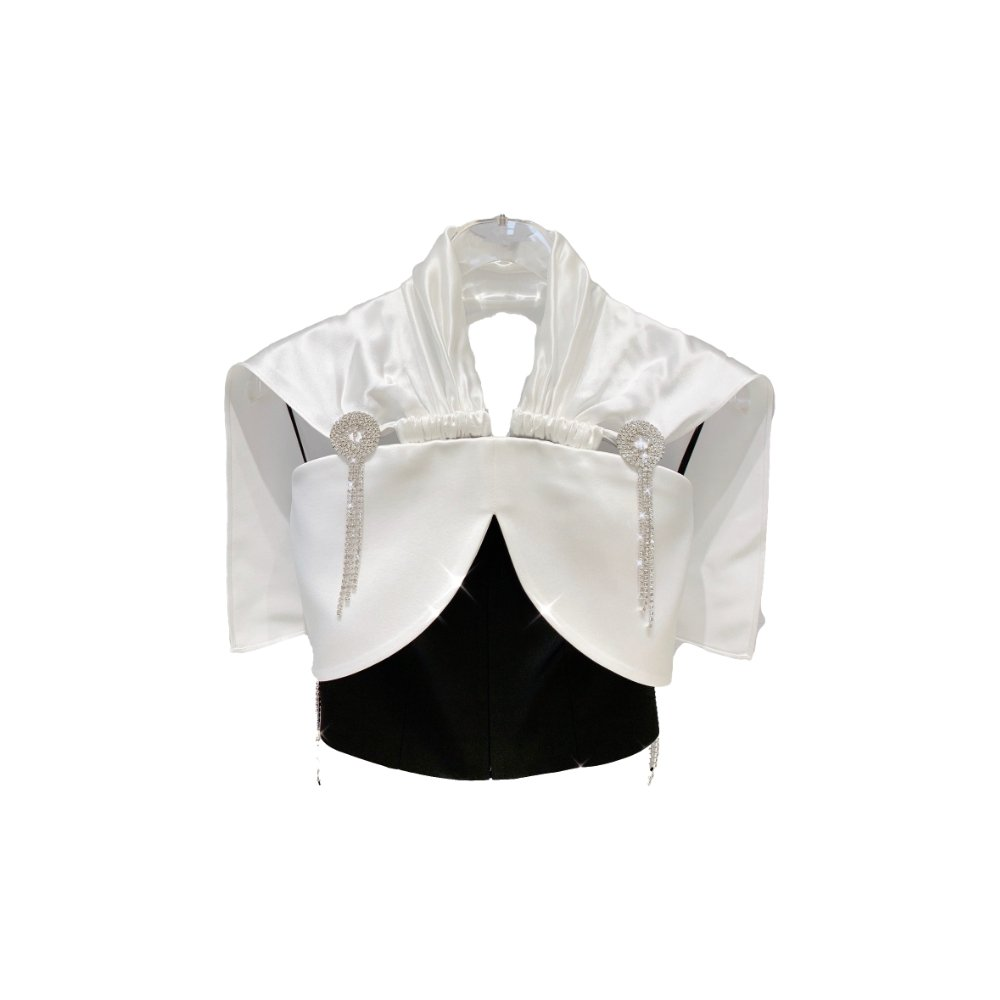 MASION.W White Fringed Top | MADA IN CHINA