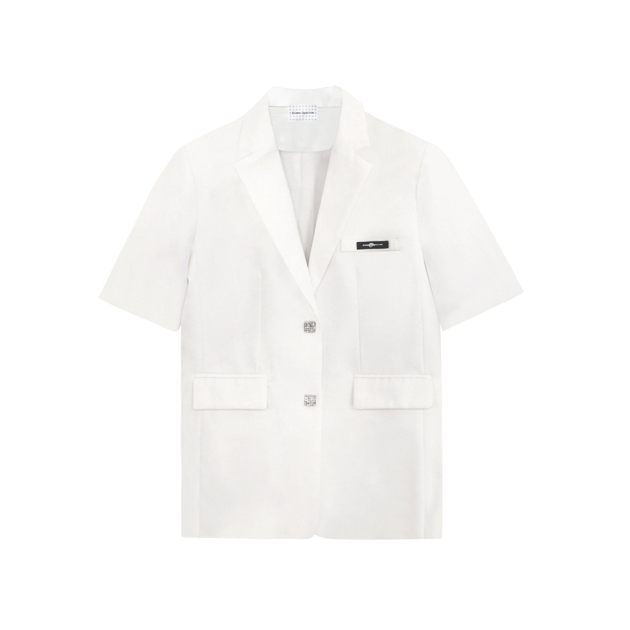 AIMME SPARROW White Rose Logo Suit | MADA IN CHINA
