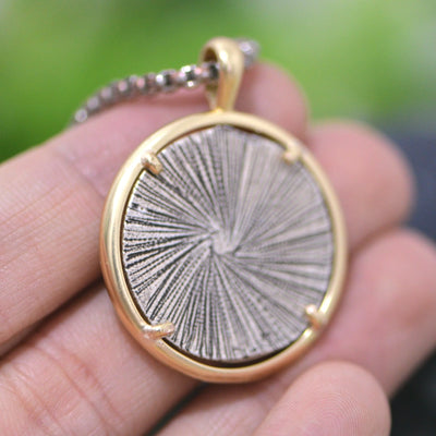 Activist Vegan Medallion Necklace - LookVegan